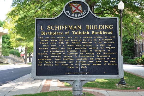 Tallulah Bankhead marker